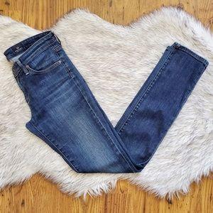 AG The Stevie Slim Straight Jeans Size 26 x 30